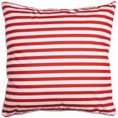 Captains Key - Seahorse and Stripes Pillow