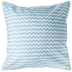 Marathon - Seahorse and Chevron Pillow