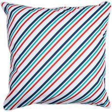 Sanibel - Starfish & Stripes Pillow