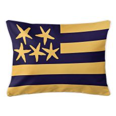 Beach Flag Lumbar Pillow - Sunshine