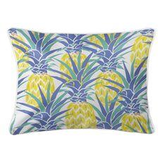 Pineapple Isle Lumbar Coastal Pillow