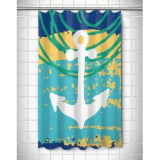 Bimini Anchor Shower Curtain