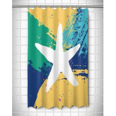 Bimini Starfish Shower Curtain