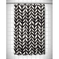 Grand Bahama - Drifter Black Shower Curtain