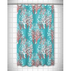 Nassau - Coral Beach Shower Curtain