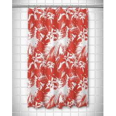 Walker'S Cay - Island Getaway Red Shower Curtain