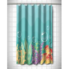 Sea Bed Shower Curtain