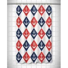 Captains Key - Anchor Shower Curtain