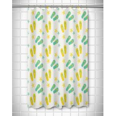 Layton Key - Flip Flops Shower Curtain