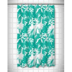 Walker's Cay - Island Getaway Aqua Shower Curtain