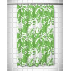 Walker's Cay - Island Getaway Green Shower Curtain