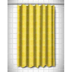 Art Deco Goldenrod Shower Curtain
