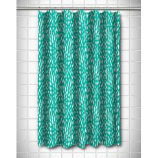 Hipster Aqua Shower Curtain