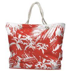 Walker's Cay Island Getaway Tote Bag with Nautical Rope Handles