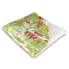 Key West Tropical Fleece Throw Blanket