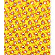 King Lion Fleece Throw Blanket