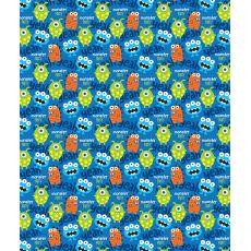 Monster Party Fleece Throw Blanket