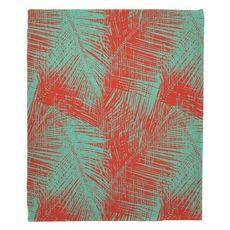 Walker's Cay - Palm Breeze Fleece Throw Blanket