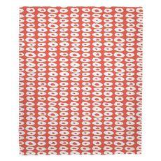 Doughnuts Coral Fleece Throw Blanket