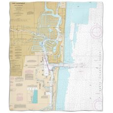 Fl: Fort Lauderdale, Fleece Throw Blanket
