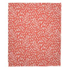 Hipster Coral Fleece Throw Blanket