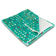 Diamonds Confetti Fleece Throw Blanket