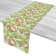 "Key West Tropical Table Runner - 16""X90"""