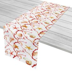"Coral Lattice Table Runner - 16""X90"""