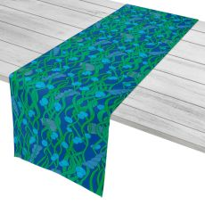 "Green Seaweed Table Runner - 16""X72"""
