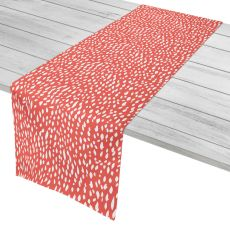 "Hipster Coral Table Runner - 16""X90"""