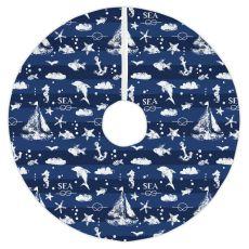 Blue Sea Mix Tree Skirt