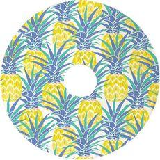 Pineapple Isle Christmas Tree Skirt