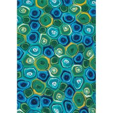 "Liora Manne Illusions Murano Swirls Indoor/Outdoor Mat Caribbean 23""X35"""