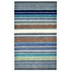 Stripes Blue Rug 9' x 12'