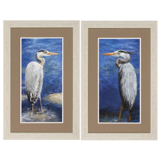 Into The Pond Framed Art