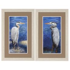 Into The Pond Framed Art