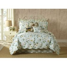 Blooming Magnolia Twin Quilt