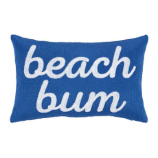 Beach Bum Pillow By Peking