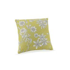 Tranquil Garden Quilted Pillow Blown Fill