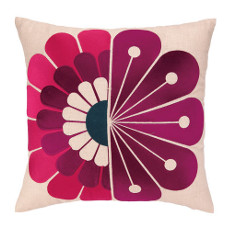 Windsor Berry Embroidered Pillow