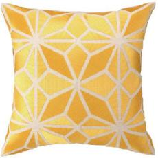 Mojave Yellow Emb Pillow