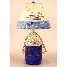 Buoy with Net Table Lamp