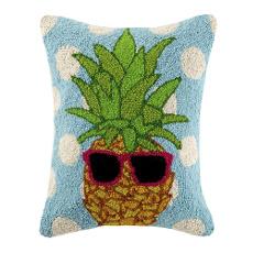 Polka Dot Pineapple Hook Pillow