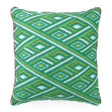 Marcella Green Bargello Pillow