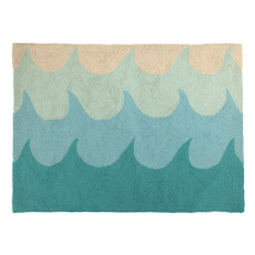 Waves Hook Rug
