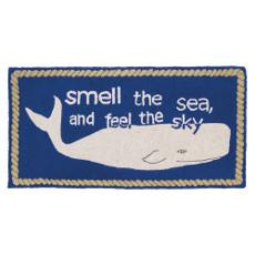 Whale  Hook Rug