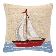 Sail Boat Hook Pillow