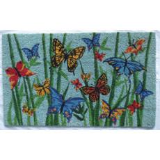 """Bamboo Butterflies Coirmat 18X30"""""""