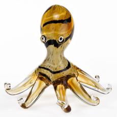 Murano style Artistic Glass Octopus H6 inch