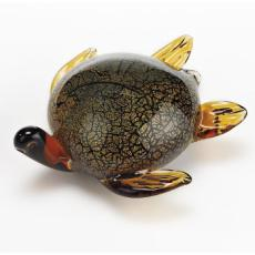 Murano Style Artistic Glass Sea Turtle L7 inch
